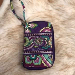 NWOT Vera Bradley Wristlet Wallet/Phone Case!